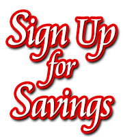 Sign Up for Savings